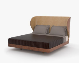 3D model of De La Espada Suite Bed