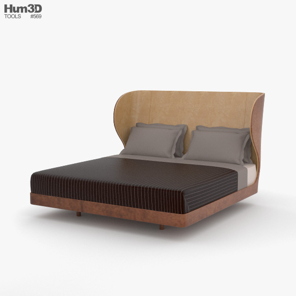 De La Espada Suite Bed 3D model