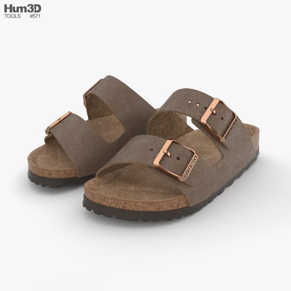 3D model of Sandals