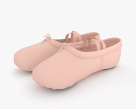 3D model of Ballet Shoes