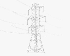 3D model of Transmission Tower