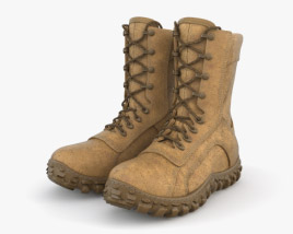 3D model of Military Boots