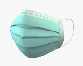 3D model of Surgical Mask