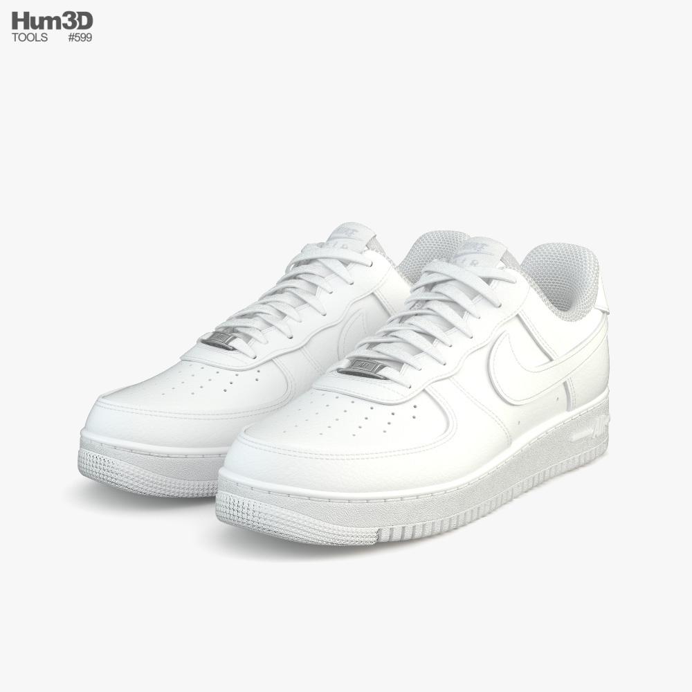 Nike Air Force 1 3D model