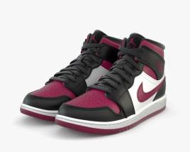3D model of Nike Air Jordan 1