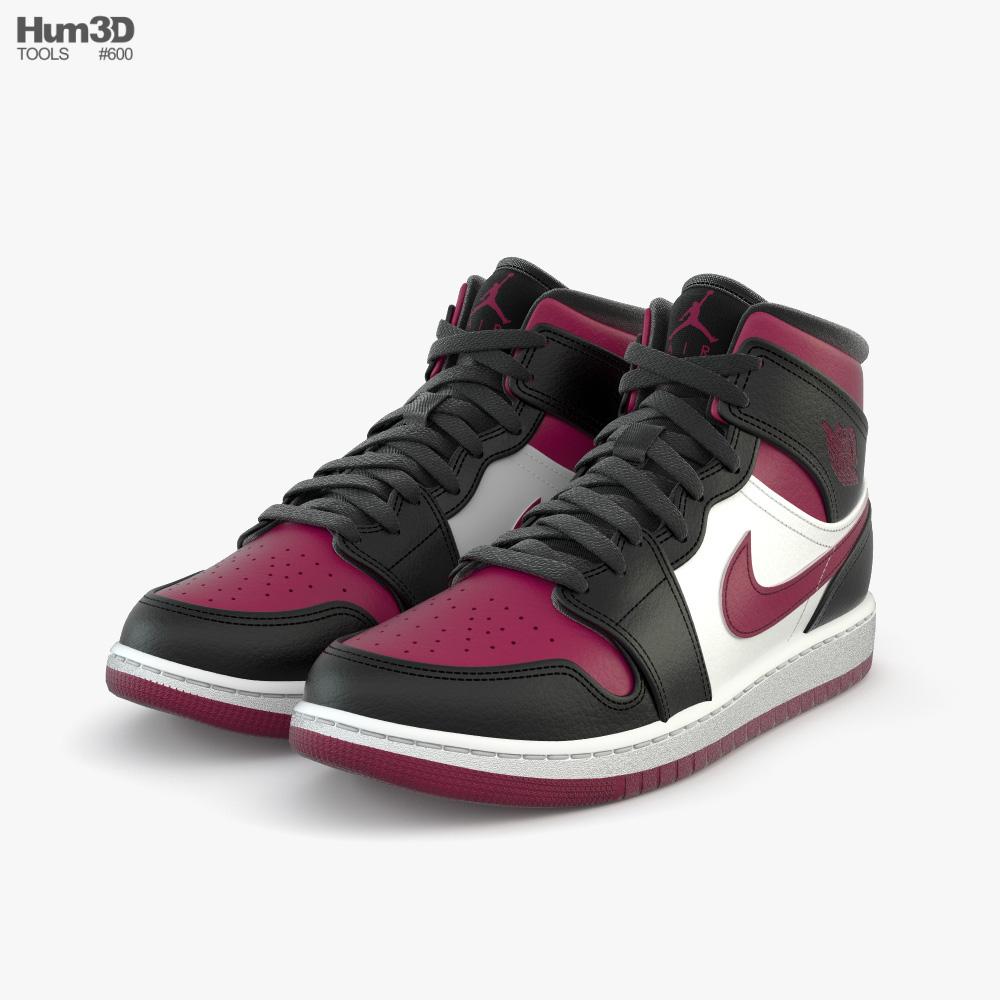 Nike Air Jordan 1 3D model