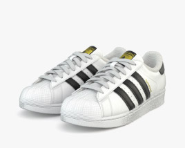3D model of Adidas Superstar