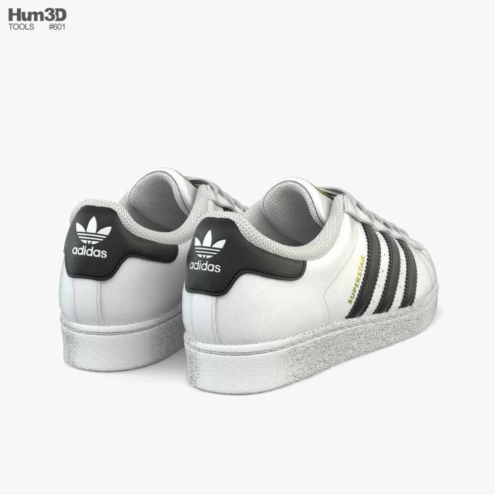 Adidas Superstar 3d model