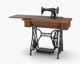 3D model of Singer Sewing Machine