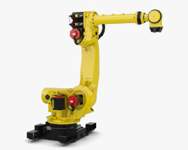 3D model of Fanuc Robot