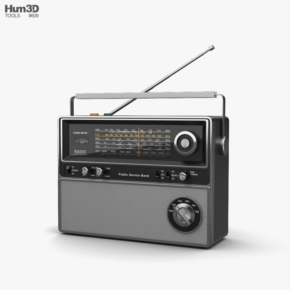 3D model of Radio