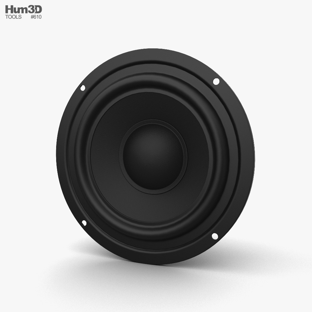 Sound Speaker 3d model