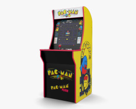 3D model of Arcade Machine