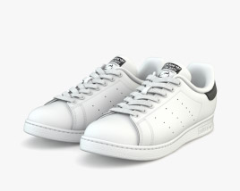 Adidas Stan Smith Modelo 3D