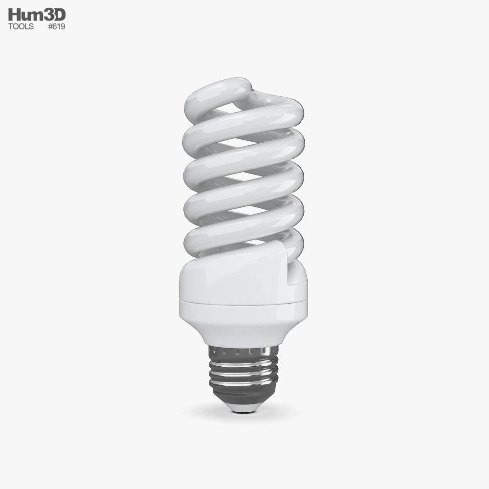 Energy-Saving Lamp 3D model