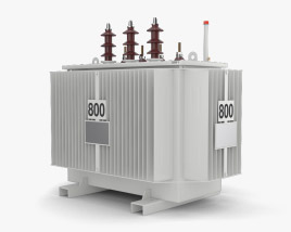 3D model of Power Transformer
