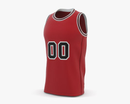 3D model of Basketball Jersey