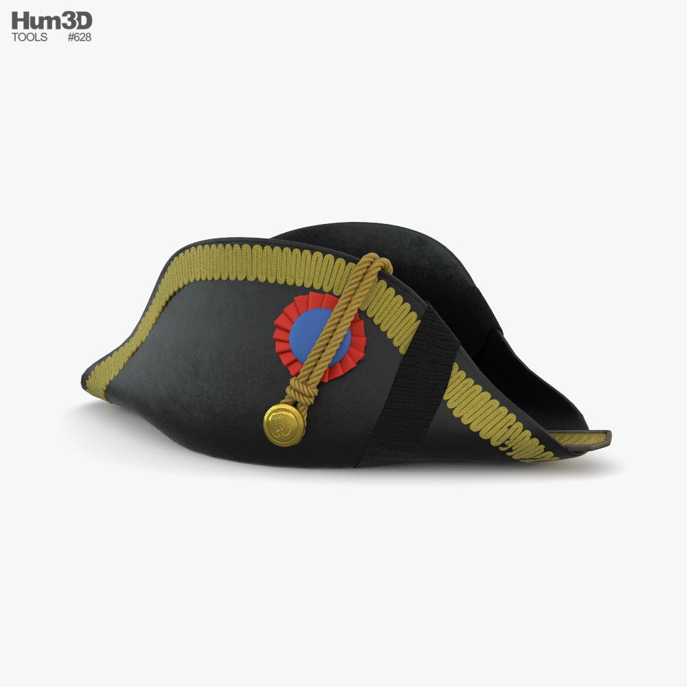 Bicorne Hat 3D model
