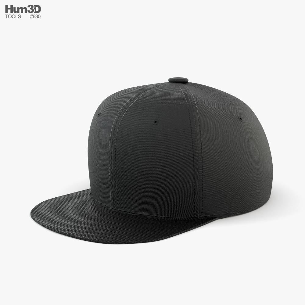 Snapback 3d model