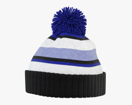 3D model of Winter Hat 02