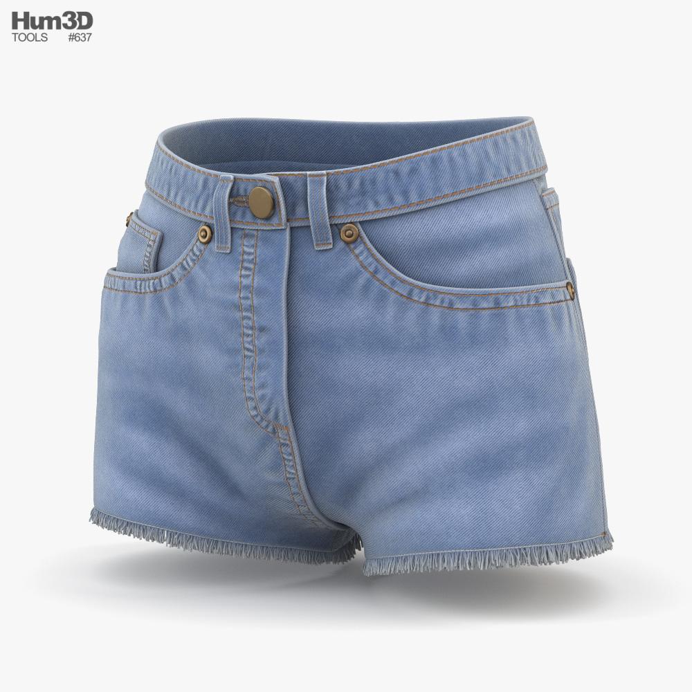 Shorts 3D model