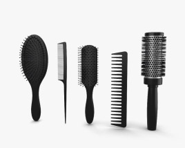 3D model of Hair Brush Set