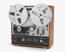3D model of Reel-to-Reel Player
