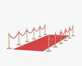 3D model of Red Carpet