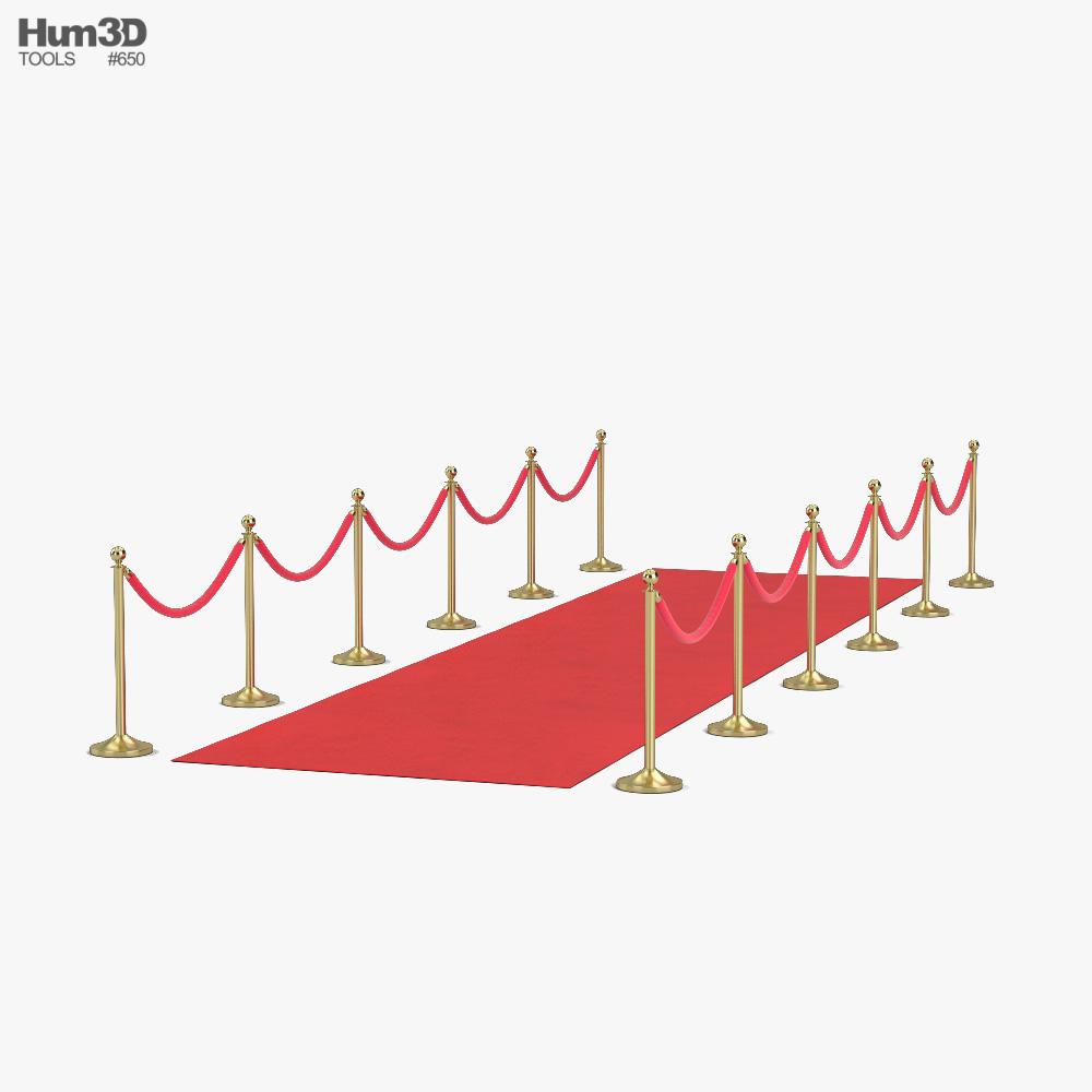 Red Carpet 3D model