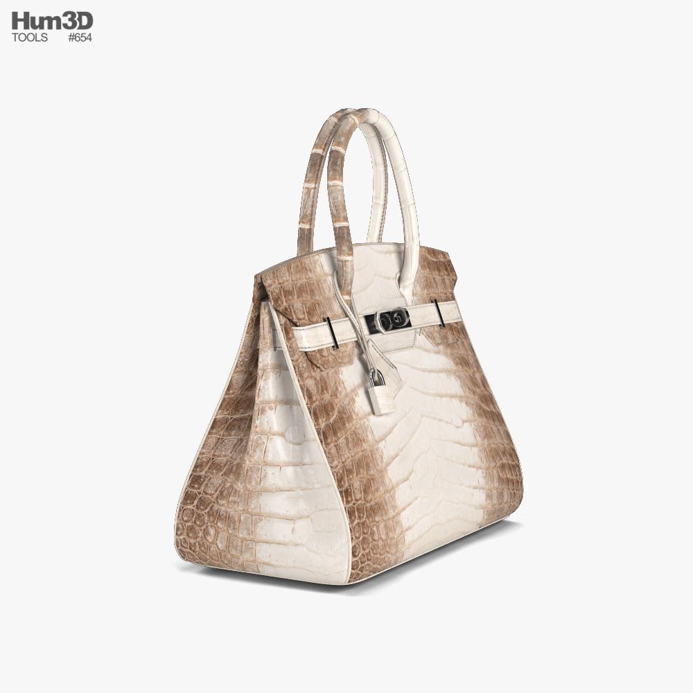 Hermes Bag 3d model