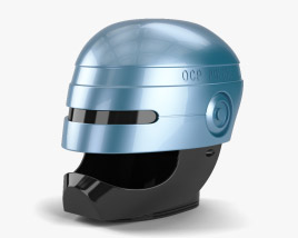 3D model of Robocop Helmet