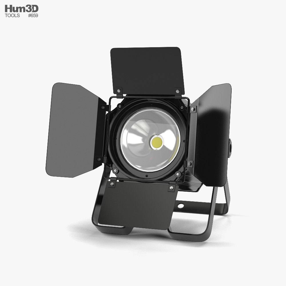 3D model of Stage Light 01