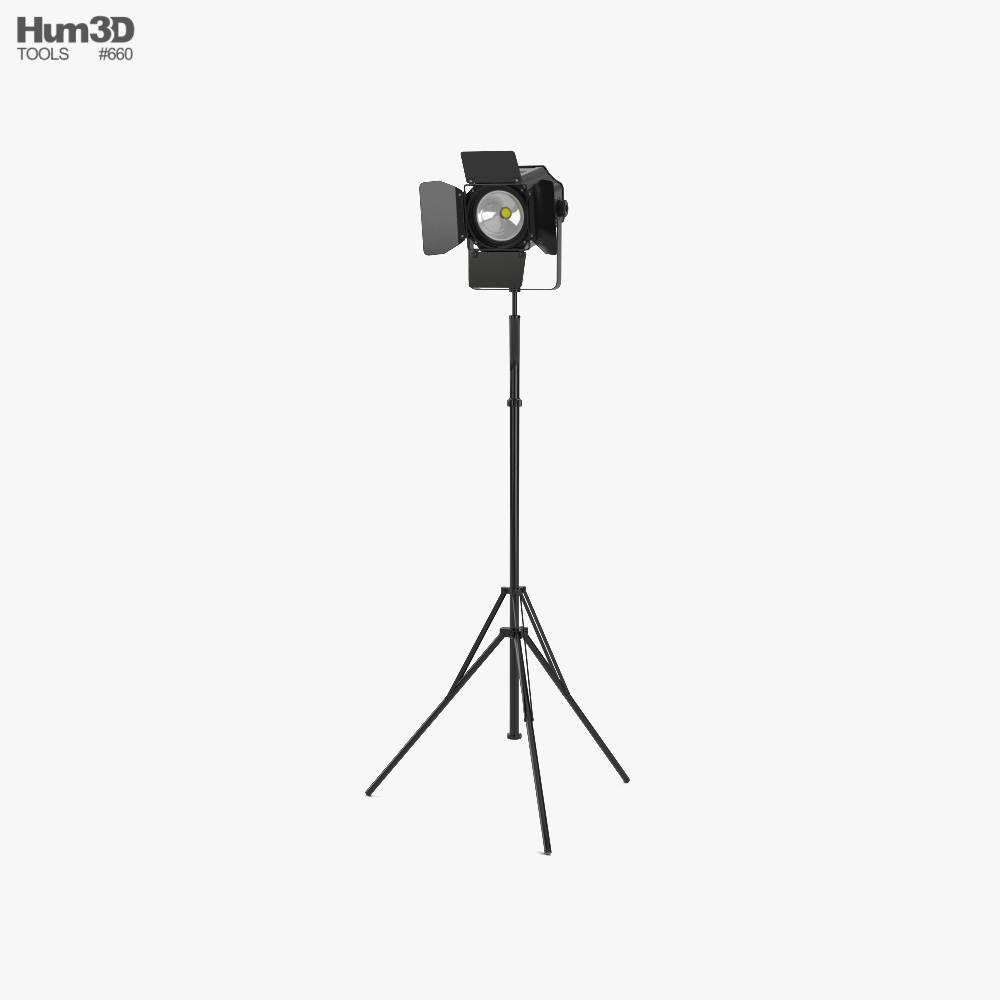 3D model of Stage Light 02
