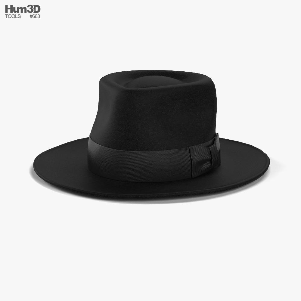 3D model of Fedora Hat