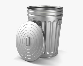 3D model of Trash Can