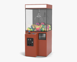 3D model of Claw Machine
