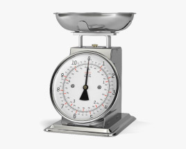 3D model of Kitchen Scale