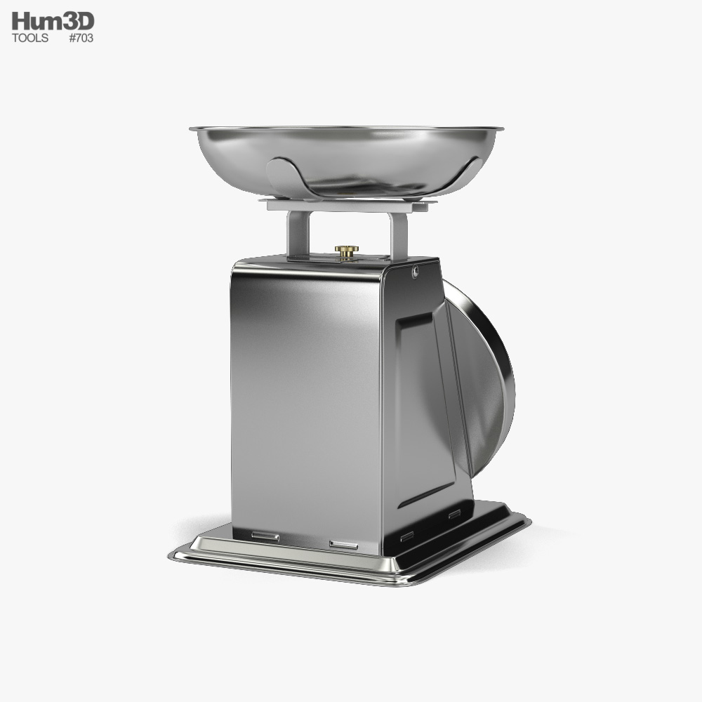 Kitchen Scale 3d model
