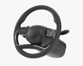 3D model of Steering Wheel
