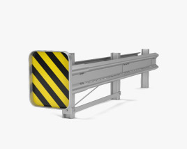 3D model of Guardrail