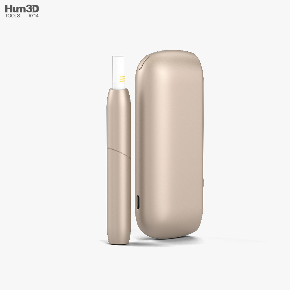 IQOS 3 Duo Electronic Cigarette 3d model