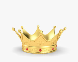 3D model of King Crown