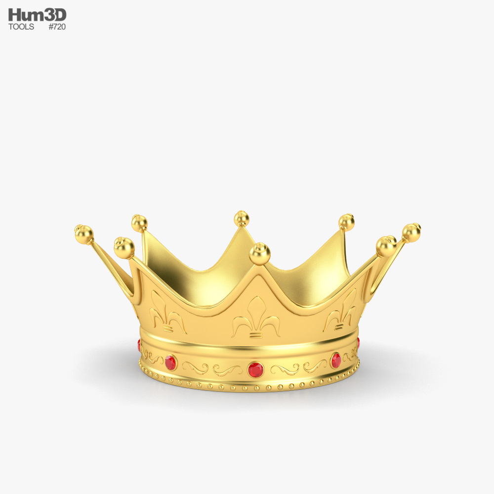 King Crown 3D model