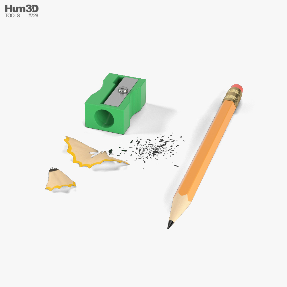 Pencil Sharpener 3D model