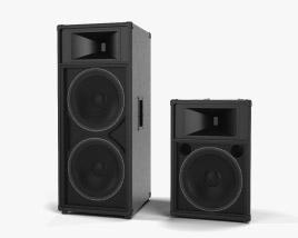 Sound Reinforcement Loudspeaker 3D model