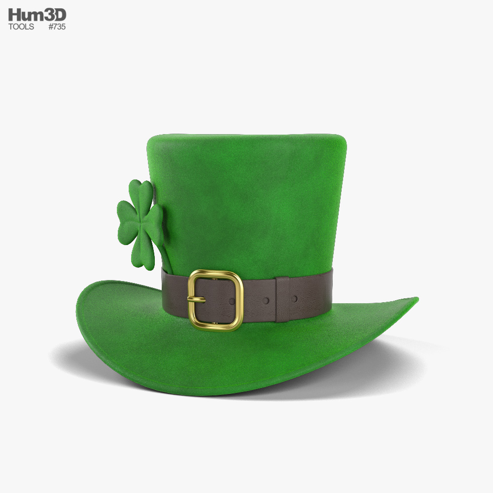 Leprechaun Hat 3D model