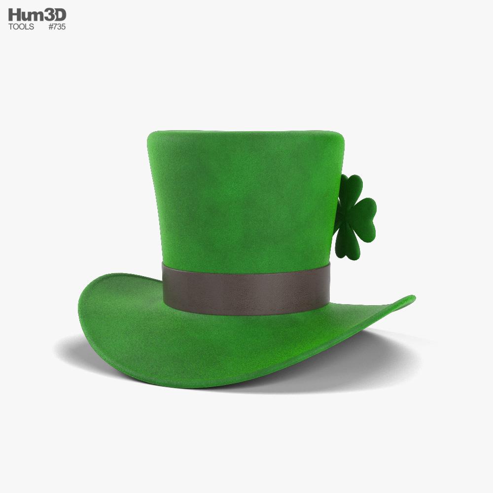 Leprechaun Hat 3d model
