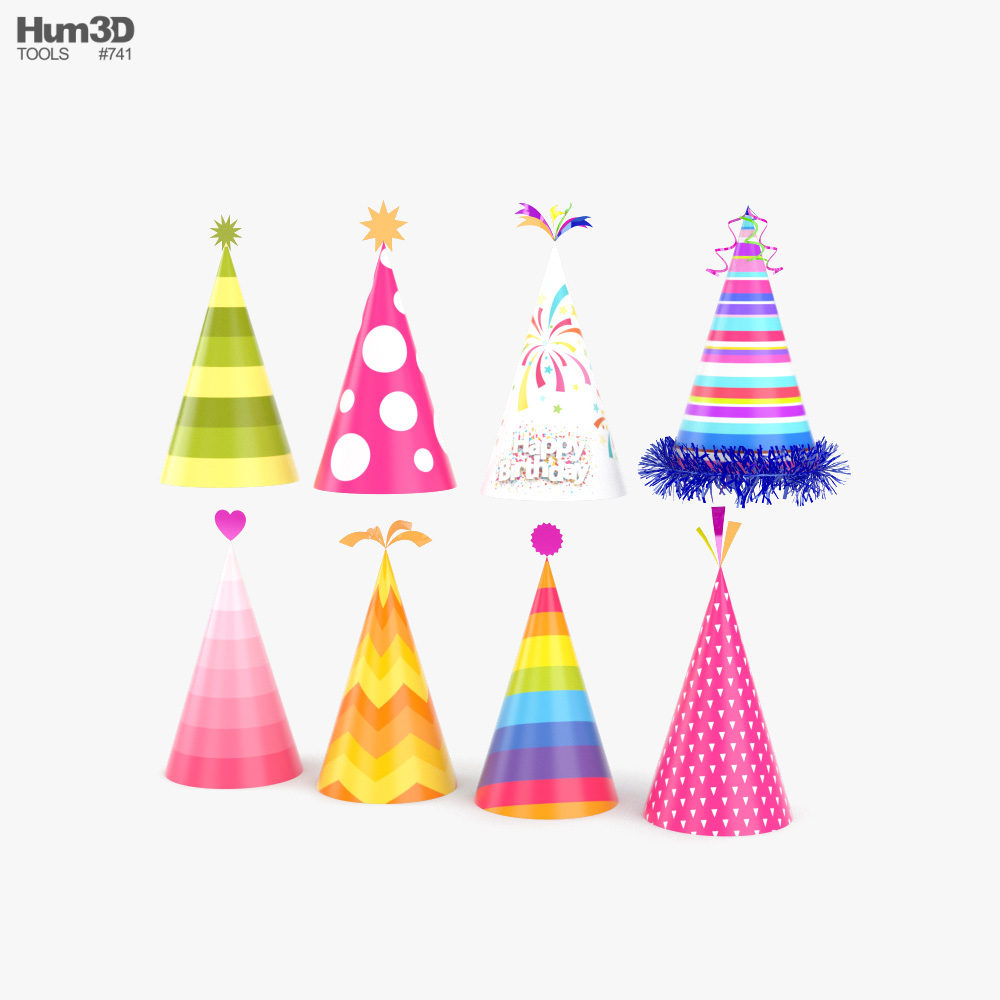 3D model of Party Hat