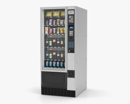 Snack and Drink Vending Machine 3D model