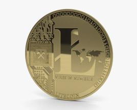 Litecoin 3D model